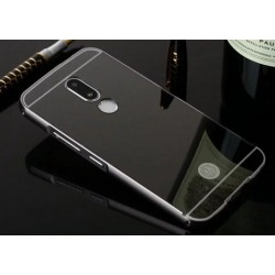 Zrcadlový kryt pro Lenovo Moto M - Černý