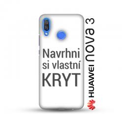 Huawei Nova 3 pevný kryt s vlastním designem