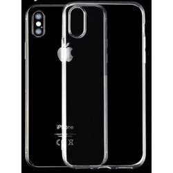 iPhone X silikonový obal Průhledný