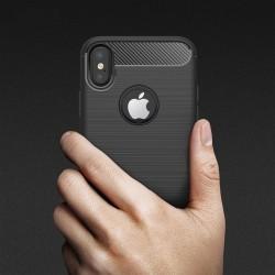 Kryt s motivem Carbon pro iPhone X