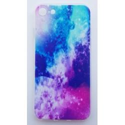 iPhone 8 silikonový obal s potiskem Vesmír