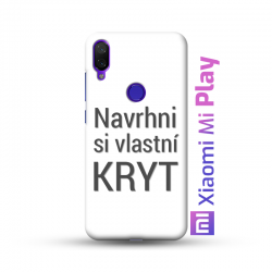 Xiaomi Mi Play kryt s vlastní fotkou