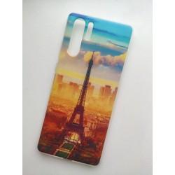 Huawei P30 Pro silikonový obal s potiskem Paris