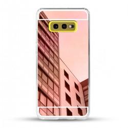 Zrcadlový TPU obal na Samsung Galaxy S10e - Růžový