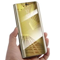 Zrcadlové pouzdro na Samsung Galaxy S20 FE - Zlatý lesk
