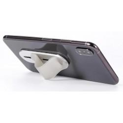 Výsuvný mini držák telefonu na prsty - Stříbrná