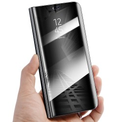 Zrcadlové pouzdro na Samsung Galaxy A52s 5G - Černý lesk