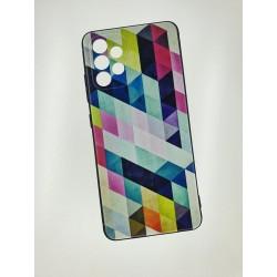 Silikonový obal s potiskem na Samsung Galaxy A52s 5G - Colormix