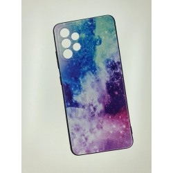 Silikonový obal s potiskem na Samsung Galaxy A52s 5G - Vesmír