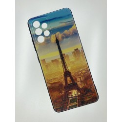 Silikonový obal s potiskem na Samsung Galaxy A52s 5G - Paříž