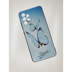 Silikonový obal s potiskem na Samsung Galaxy A52s 5G - Motýli