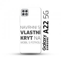 Samsung Galaxy A22 5G kryt s vlastní fotkou