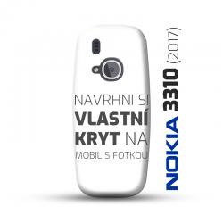 Nokia 3310 (2017) kryt s vlastní fotkou