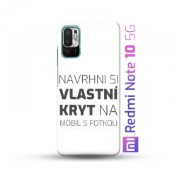 Redmi Note 10 5G kryt s vlastní fotkou