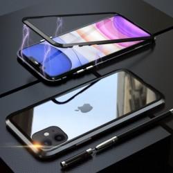 Magnetický kryt  360° s tvrzenými skly na iPhone 13