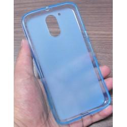 Lenovo Moto G4 G4 Plus silikonový obal Modrý