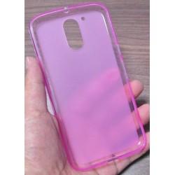 Lenovo Moto G4 G4 Plus silikonový obal Růžový