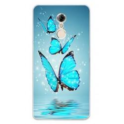 Lenovo K6 NOTE silikonový obal s motivem Motýli